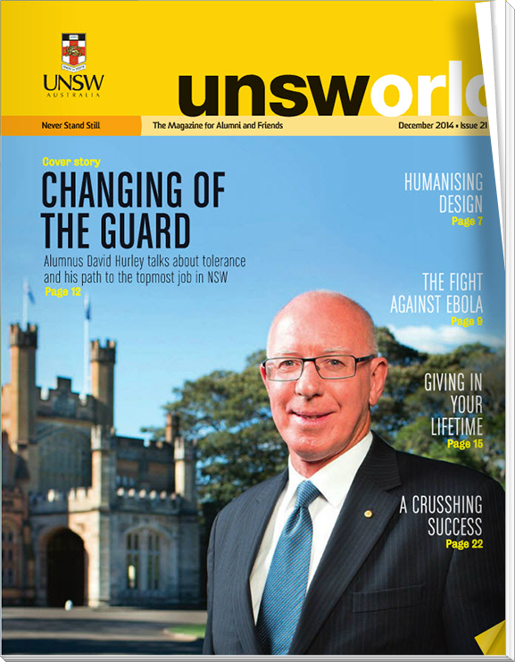 UNSWorld Issue 19 cover
